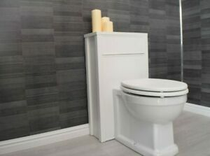 12 Brushed Carbon Grey Small Tile Effect Bathroom Wall Panels PVC And Trims   EBay
