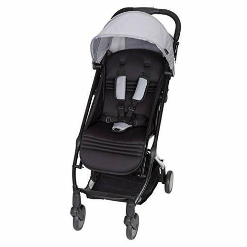 Pebble Baby Trend Tri Fold Lightweight Compact Mini Stroller with Carry Strap