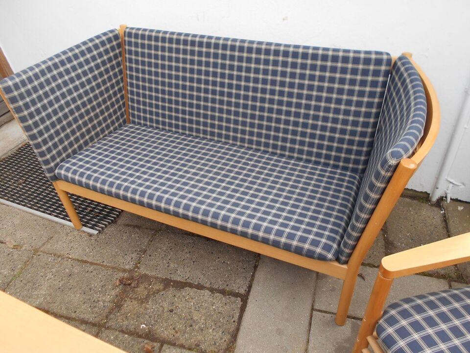 Sofa, uld, 2 pers.