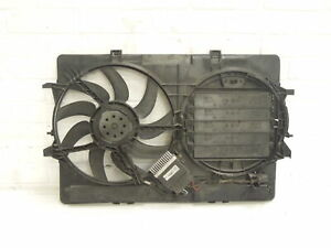 Audi-A4-B8-Electric-Cooling-Fan-Panel-and-Controller-8K0121003L