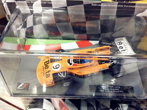 1//43 IXO F1 MARCH 751 Vittorio Brambilla 1975 Austrian Grand Prix Diecast model
