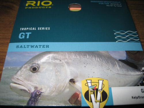 Rio 50Lb Plus GT Tropical Series Full Floating Saltwater Fly Line 400 to 550gr