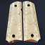 Fits-Colt-Firearms-Full-Size-1911-Grips-gold-plated thumbnail 1