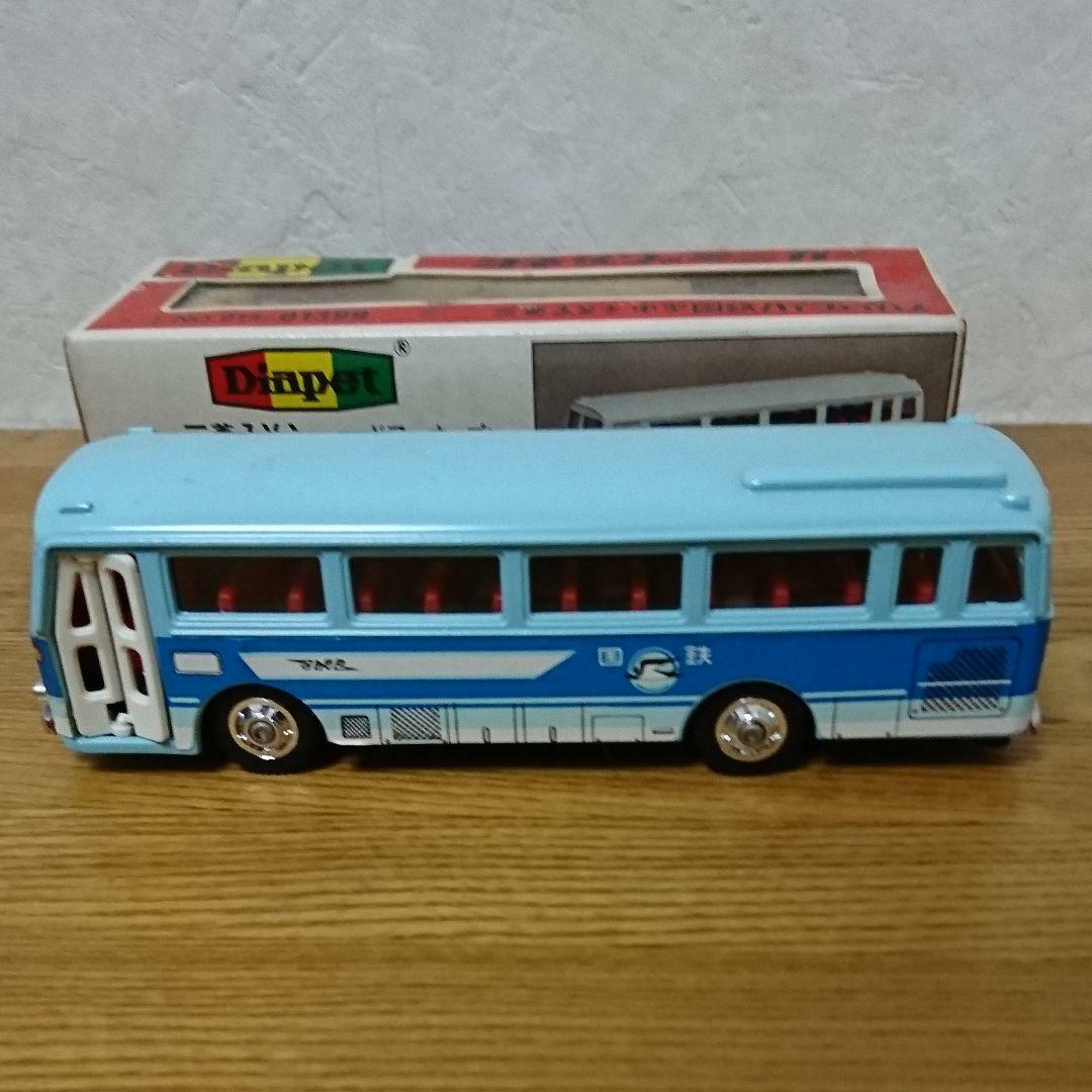 Diapet Mitsubishi Fuso Medium-sized JNR Highway Bus blueeeeeee w tracking f s