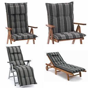 auflagen f r niedriglehner hochlehner relaxliege liege sessel hoch und niedrig. Black Bedroom Furniture Sets. Home Design Ideas