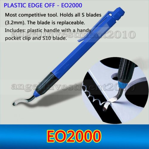 1 piece NOGA type PLASTIC EDGE OFF EO2000 Deburring tool