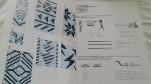 kh910 Brother Original Instruction Manual for kG 88 on the electronic machine