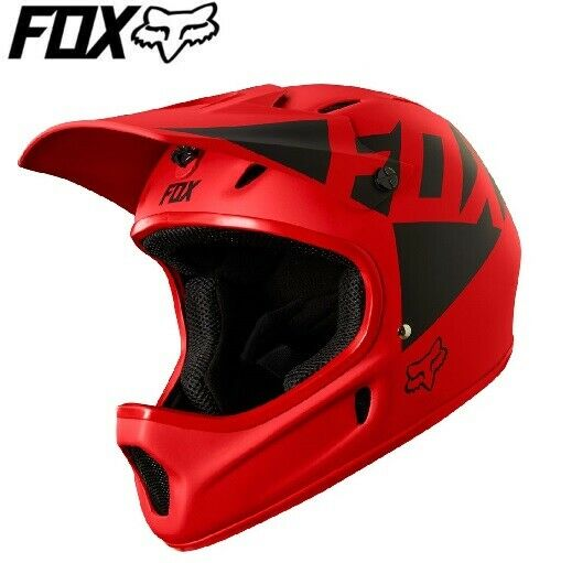 FOX  Rampage Landi Full Face Downhill MTB Helmet - Bright Red - L, XL  cheapest price