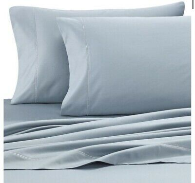 New Wamsutta 525 Thread Count 100/% Pima Cotton Fitted Sheet Solid Size FULL