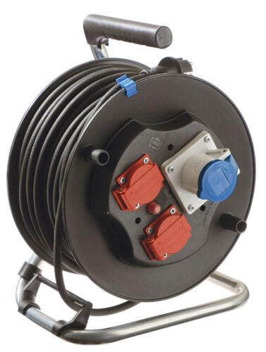 AS-Schwabe CEE-Kabeltrommel Kabelrolle Camping H07RN-F3G 1,5 IP44 40 m Neuware