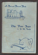 P M Leath - The Four Jays - 1st 1947 Dustwrapper - Bed and Biscuit Book, Mariner