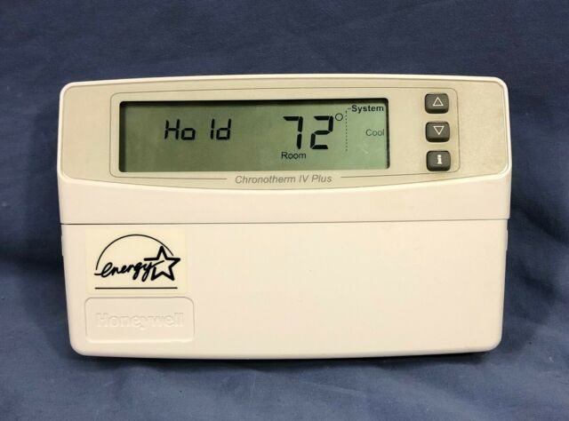 Used Honeywell Chronotherm Iv Plus Programmable Thermostat