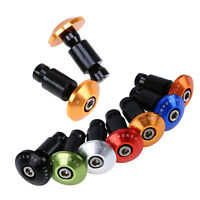 Motorcycle Handlebar 22mm 7/8 Hand Grips Bar End Cap Plug Slider Cover For Bmw