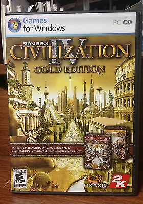 2007 Sid Meier's Civilization Iv Gold Edition Game Uitstekende Eigenschappen