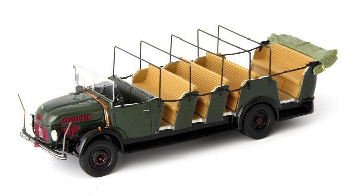 Autocult 1   43 steyr 380a cabrio - bus 1949 dunkelgrüne 10.000 nur 333 stück