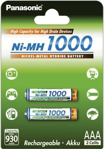 Panasonic-High-Capacity-rechargeable-AAA-battery-Ni-MH-1000mAh-2pk