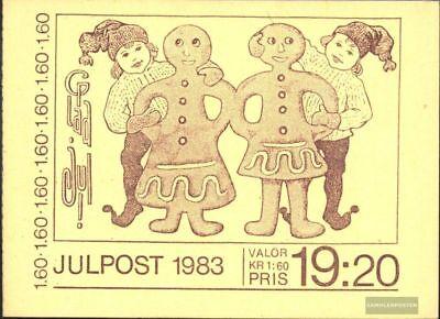 kompl.ausg. Diplomatisch Schweden Mh95 Postfrisch 1983 Weihnachten `83 Zu Den Ersten äHnlichen Produkten ZäHlen