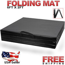 Folding Gymnastics Fitness Mat Panel Aerobics Exercise Tumbling Gym Easy Storage