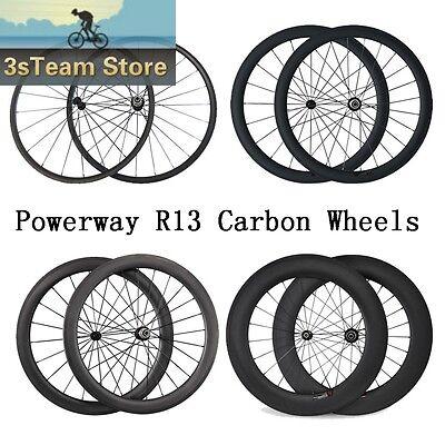 Comfortable 700C 24 38 50 60 88mm Tubular Clincher Road Bike Front Carbon Wheel