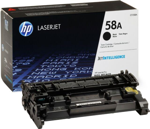 HP 58A LaserJet Black Toner Cartridge - Free Shipping USA ! New OEM Sealed