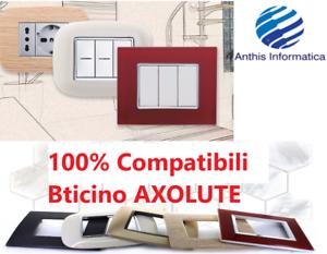 PLACCHE-COMPATIBILI-BTICINO-AXOLUTE-3-4-6-MODULI-POSTI