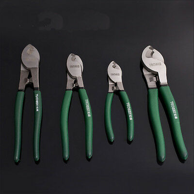 "6'' 8"" 10"" Heavy Duty Cable Cutter Electric Wire Cutting Stripper Plier Tool Kit"