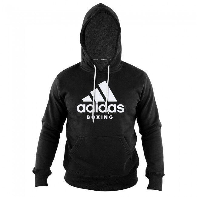 Adidas Community Hoody Schwarz Weiss. Kaputzenhoody,  Gr. S - XXL. Boxen,
