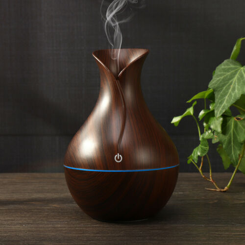 LED Ultrasonic Aroma Essential Diffuser Air Humidifier Purifier Aromatherapy F2