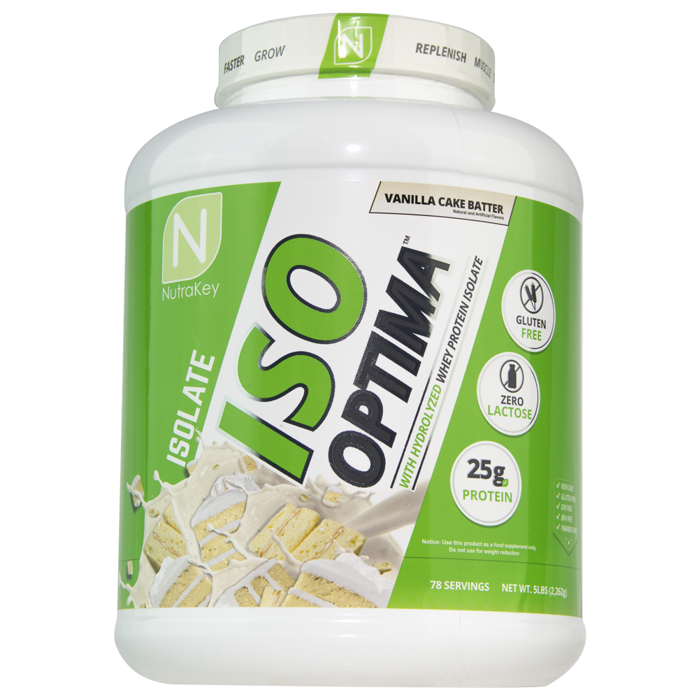 Nutrakey ISO Optima Whey Protein Powder 5lb - 4 TASTY FLAVORS FLAVORS TASTY - FREE SHIPPING 0fd4a0