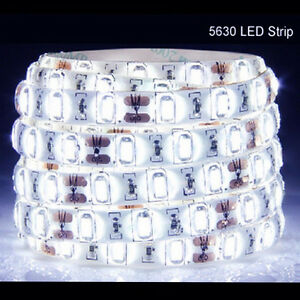5M-300Leds-5630-Cool-White-Super-Bright-LED-Strip-SMD-Light-Waterproof-12V-DC-US
