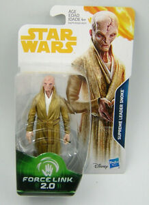 Star Wars Force Link 2.0 Supreme Leader Snoke Action Figure NEW