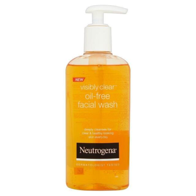 ** NEUTROGENA OIL FREE FACIAL WASH 200ml  NEW ** FACE WASH BLEMISH