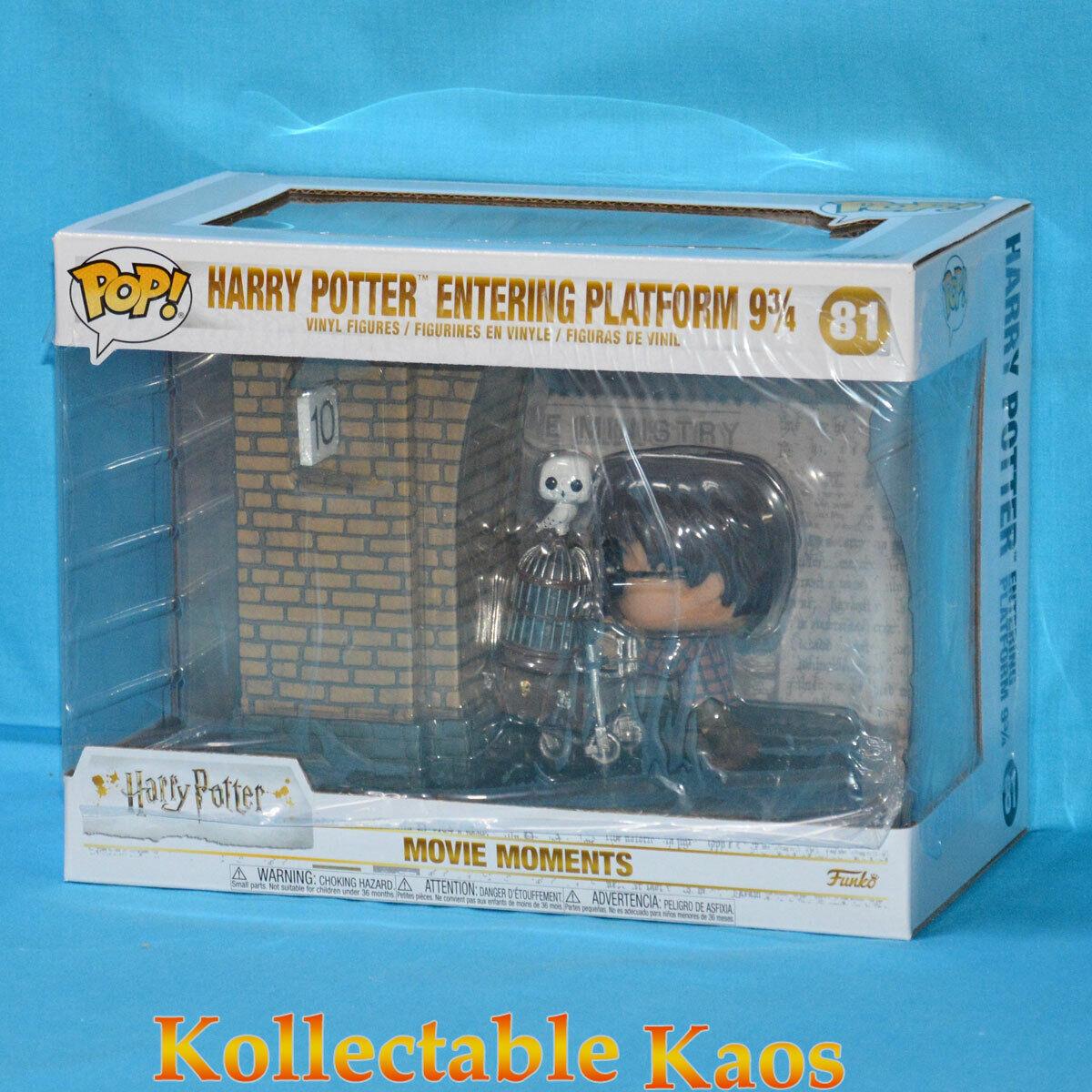 Harry Potter - Harry Potter at Platform 9 3 4 Movie Moments Pop  Vinyl (RS)