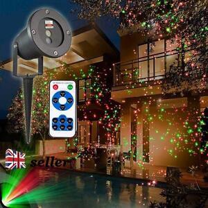 Uk Outdoor Christmas Light Sky Star Laser Spotlight Led Lamp Shower