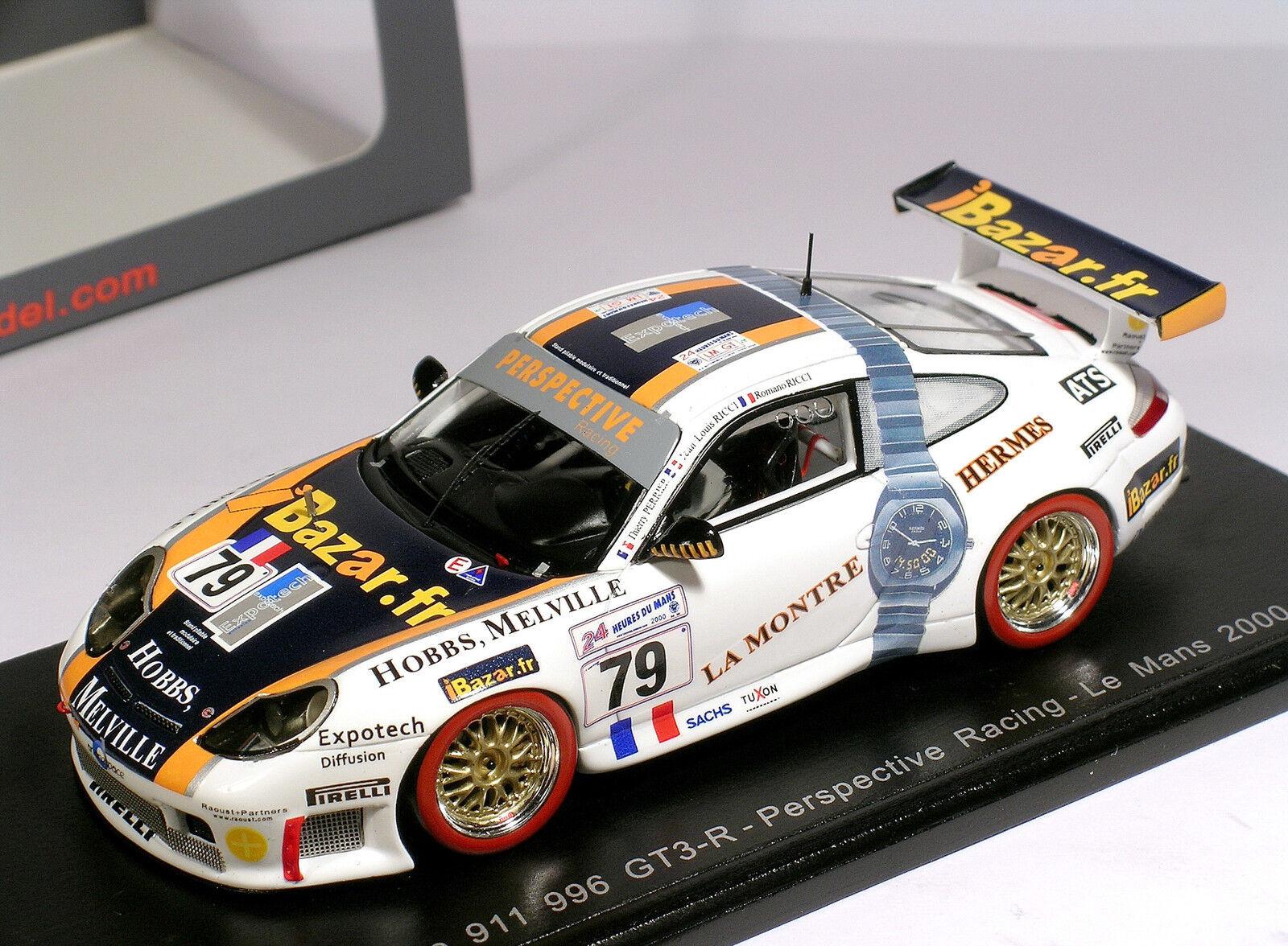 tienda en linea Porsche 996  79 Perspective iBazar Ricci 23rd 23rd 23rd Le Mans 2000 - Spark 1 43 (S4759)  se descuenta