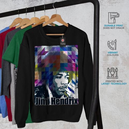 Negro Hombres Nuevo Sudadera Hendrix Celebrity Famous qPXwZap