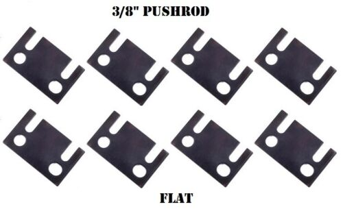 Guide Plates FLAT 3//8 Pushrod Push Rod Ford Small Block Guideplate 289 302 351W