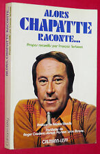CYCLISME ALORS CHAPATTE RACONTE... SPORT TELEVISION TOUR DE FRANCE COUDERC