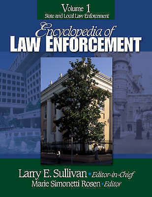 Encyclopedia of Law Enforcement, , Very Good, Hardcover