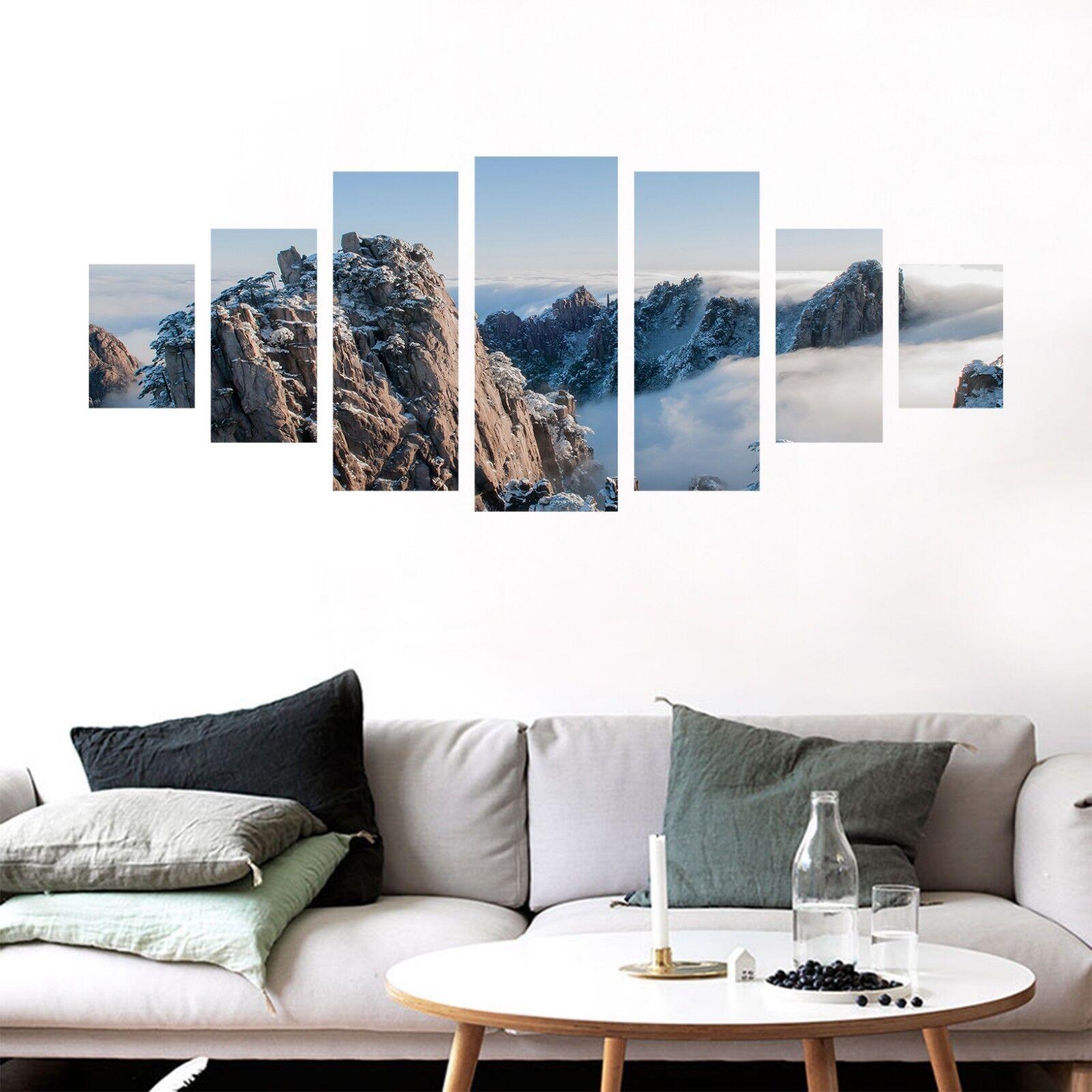 3D Mountain 839 Unframed Drucken Wand Papier Decal Wand Deco Innen AJ Wand Jenny