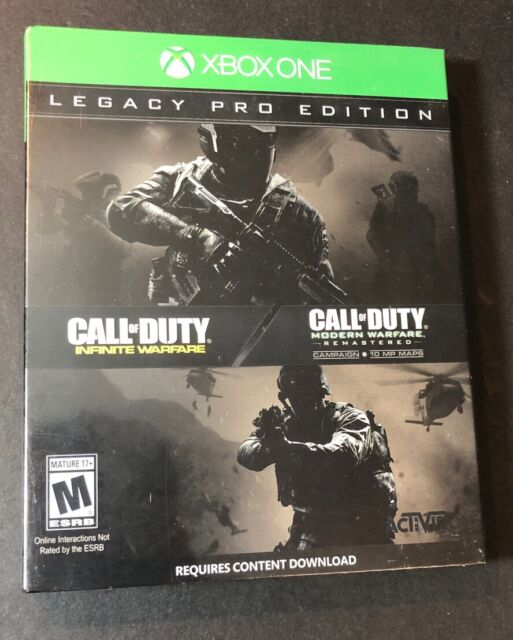 Call of Duty Infinite Warfare [ LEGACY PRO STEELBOOK Edition ] (XBOX ONE) NEW