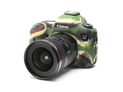 Easy Cover Canon EOS 6D  6 D Camouflage Kamera Schutzhülle Silikon  NEUWARE!