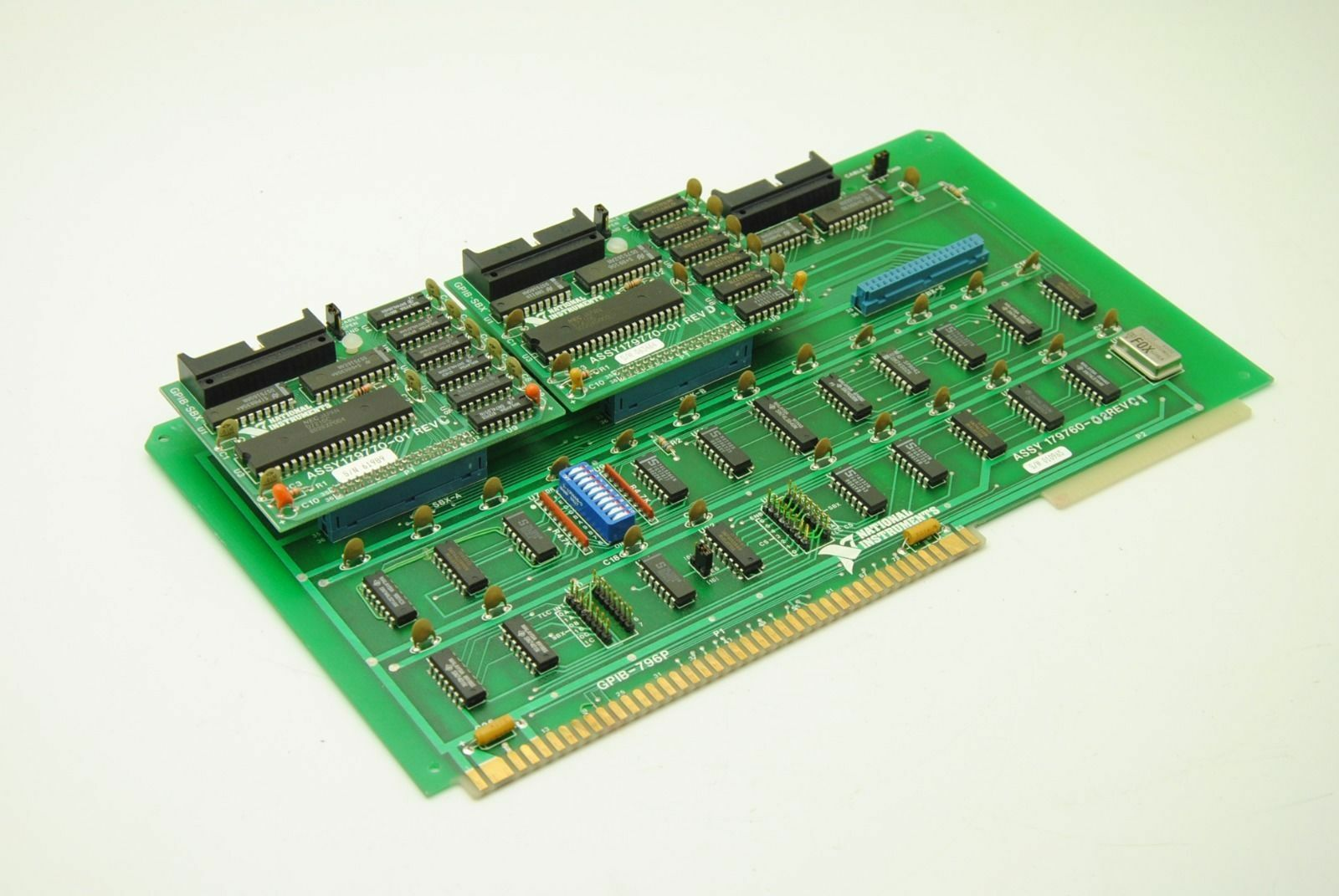 National Instruments GPIB-796B 179760-02 Rev 01, 179770-01 Rev C & Rev D