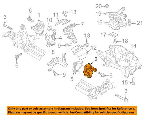 AUDI OEM 12-16 A6 Quattro-Engine Motor Mount Torque Strut 4G0199381LE