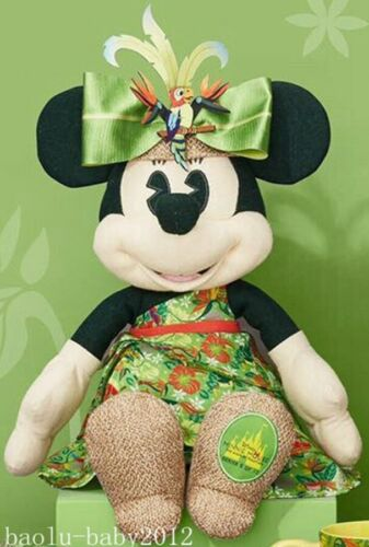 Minnie Mouse Main Attraction Plush #5 May The Enchanted Tiki Room