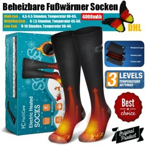 Beheizte Socken Heizbare Warme Fuß Thermische Elektrische Fußwärmer Winter