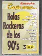 karaoke Canta Como... Rolas Rockeras De Los 90's