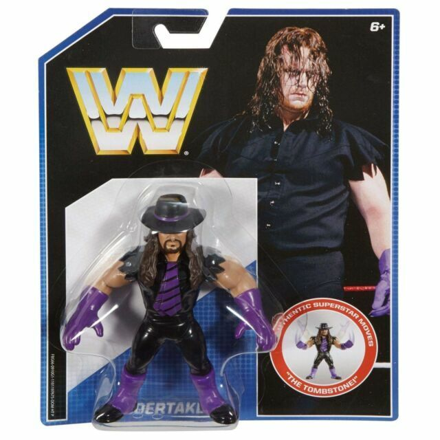 The Undertaker Retro Wrestling Revolution LJN WWF WWE Series 1