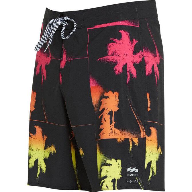 BILLABONG Mens LA JOLLA X Boardshorts - BLK - Size 36 - NWT