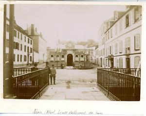 100% Vrai France, Néris-les-bains, Le Petit établissement Des Bains Vintage Citrate Print